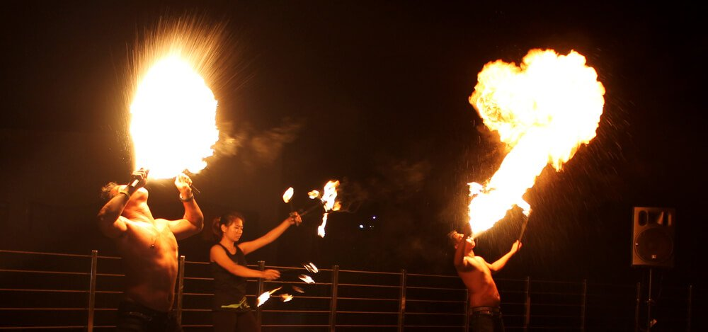 eden fire dance